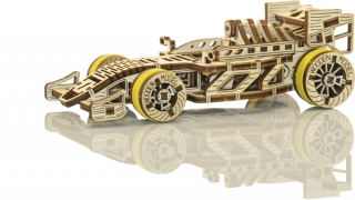 Wooden City auto Bolid
