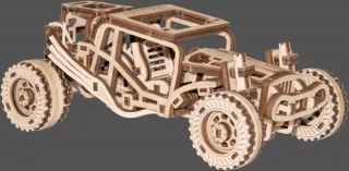 Wooden City auto Buggy