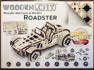 Wooden City auto Roadster